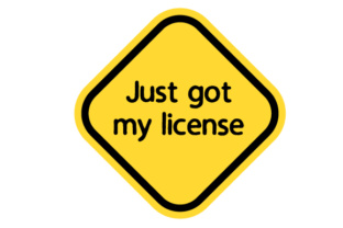 Just Got My License Craft Design By Creative Fabrica Crafts