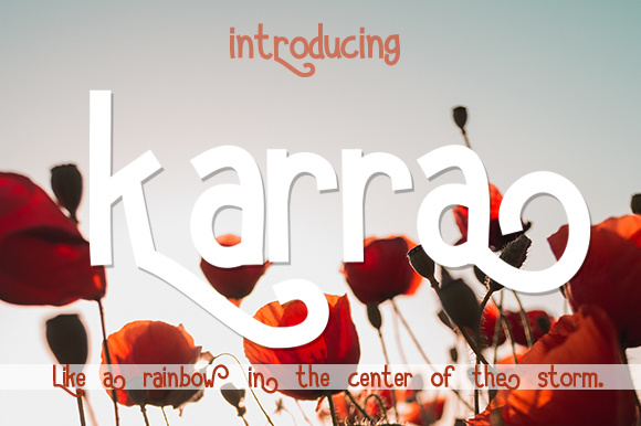 Print on Demand: Karra Sans Serif Font By brnk1314