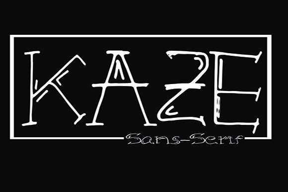 Print on Demand: Kaze Decorative Font By Fallengraphic