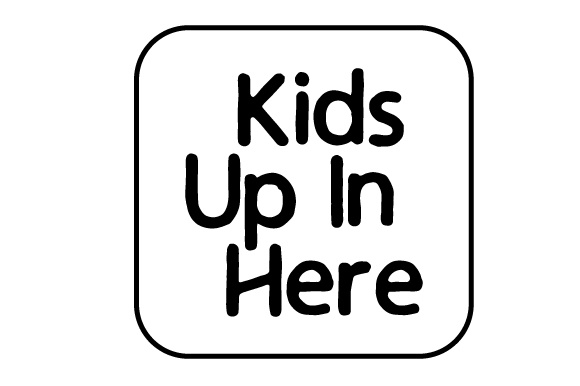 Kids Up in Here Family Car Craft Cut File By Creative Fabrica Crafts - Image 2