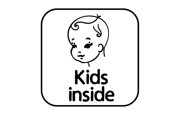 Download Free Kids Inside Svg Cut File By Creative Fabrica Crafts Creative for Cricut Explore, Silhouette and other cutting machines.