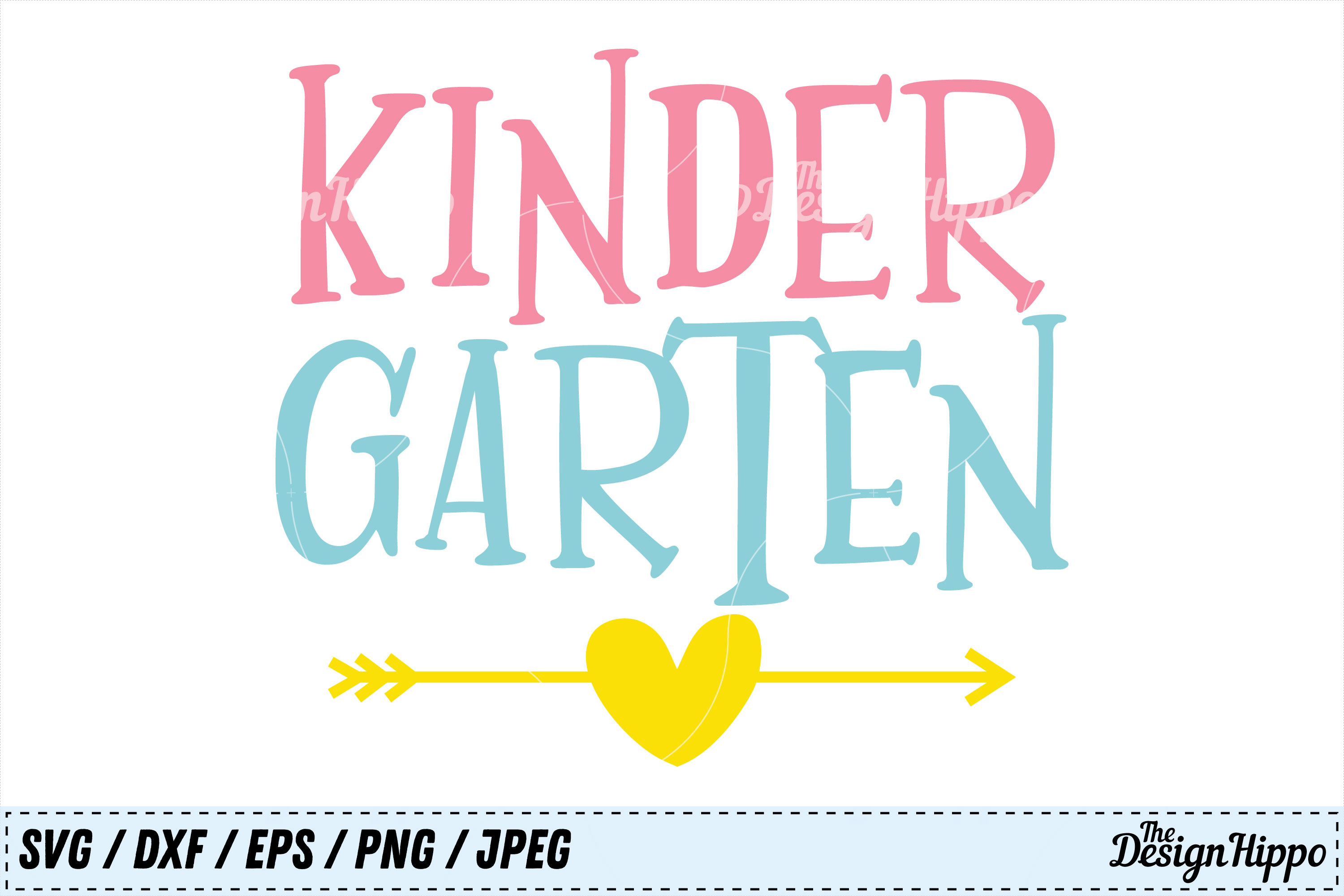 Download Free Kindergarten Graphic By Thedesignhippo Creative Fabrica for Cricut Explore, Silhouette and other cutting machines.