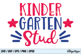 Download Free Kindergarten Stud Graphic By Thedesignhippo Creative Fabrica for Cricut Explore, Silhouette and other cutting machines.