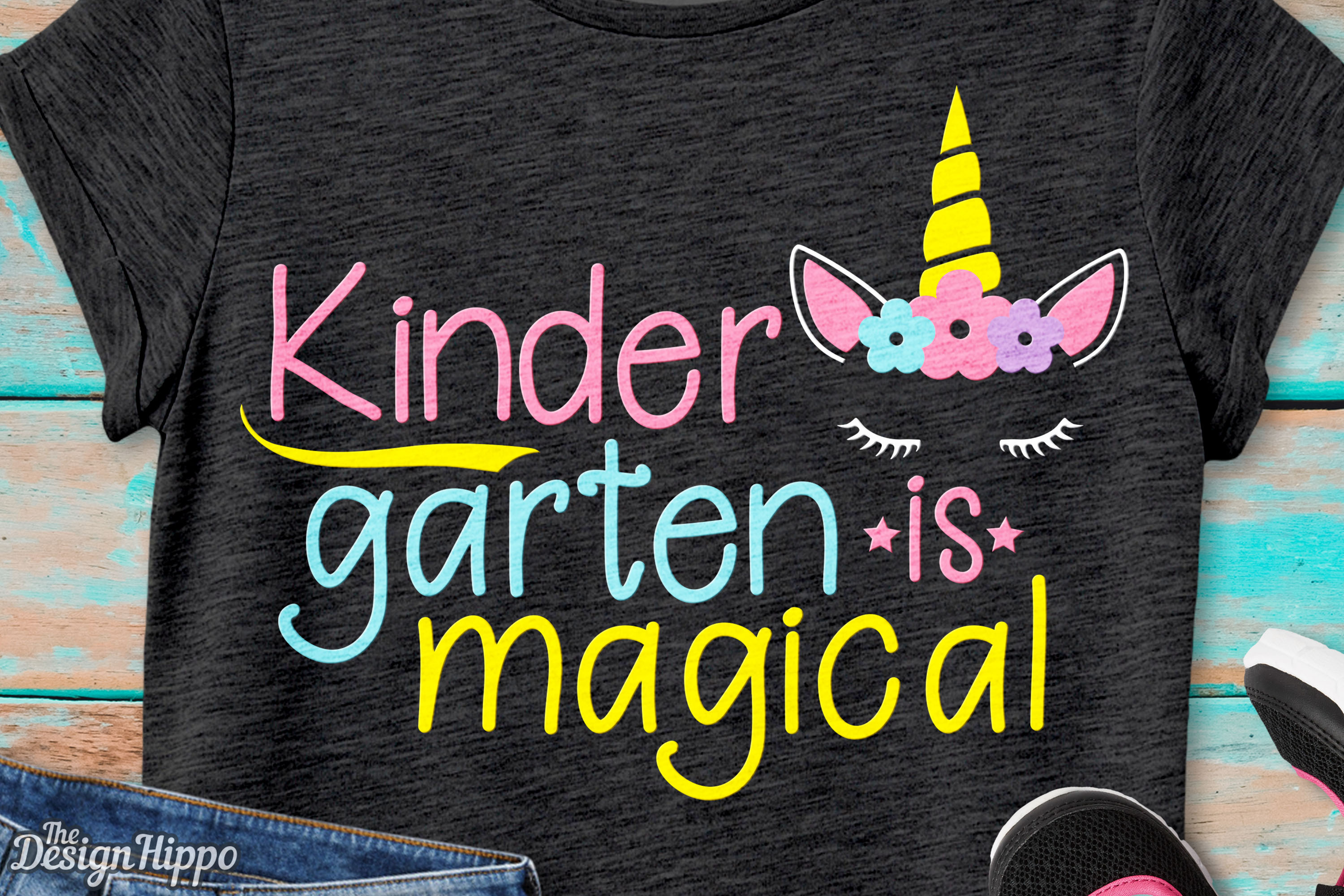 Download Free Kindergarten Is Magical Unicorn Svg Cut File Graphic By for Cricut Explore, Silhouette and other cutting machines.