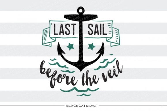 Last Sail Before the Vail Grafik Designvorlagen von BlackCatsMedia