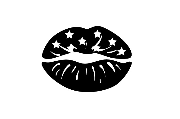 Lips Stars Designs & Drawings Craft Cut File By Creative Fabrica Crafts - Image 2