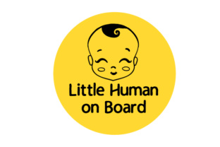 Little Human on Board Craft Design By Creative Fabrica Crafts
