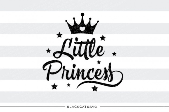 Little Princess Cute SVG Graphic Crafts By BlackCatsMedia - Image 3