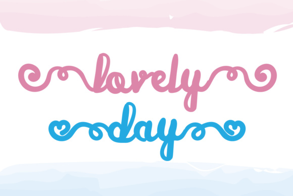 Print on Demand: Lovely Day Script & Handwritten Font By Lickable Pixels