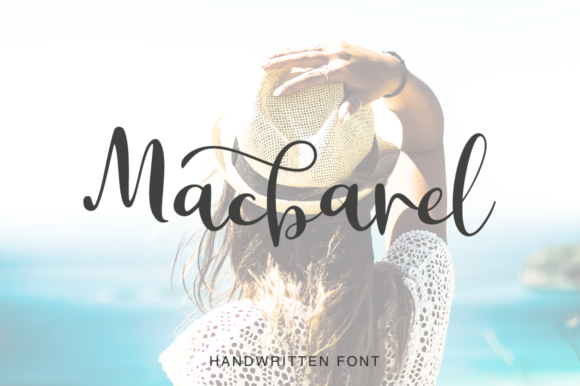 Print on Demand: Macbarel Script & Handwritten Font By Pasha Larin