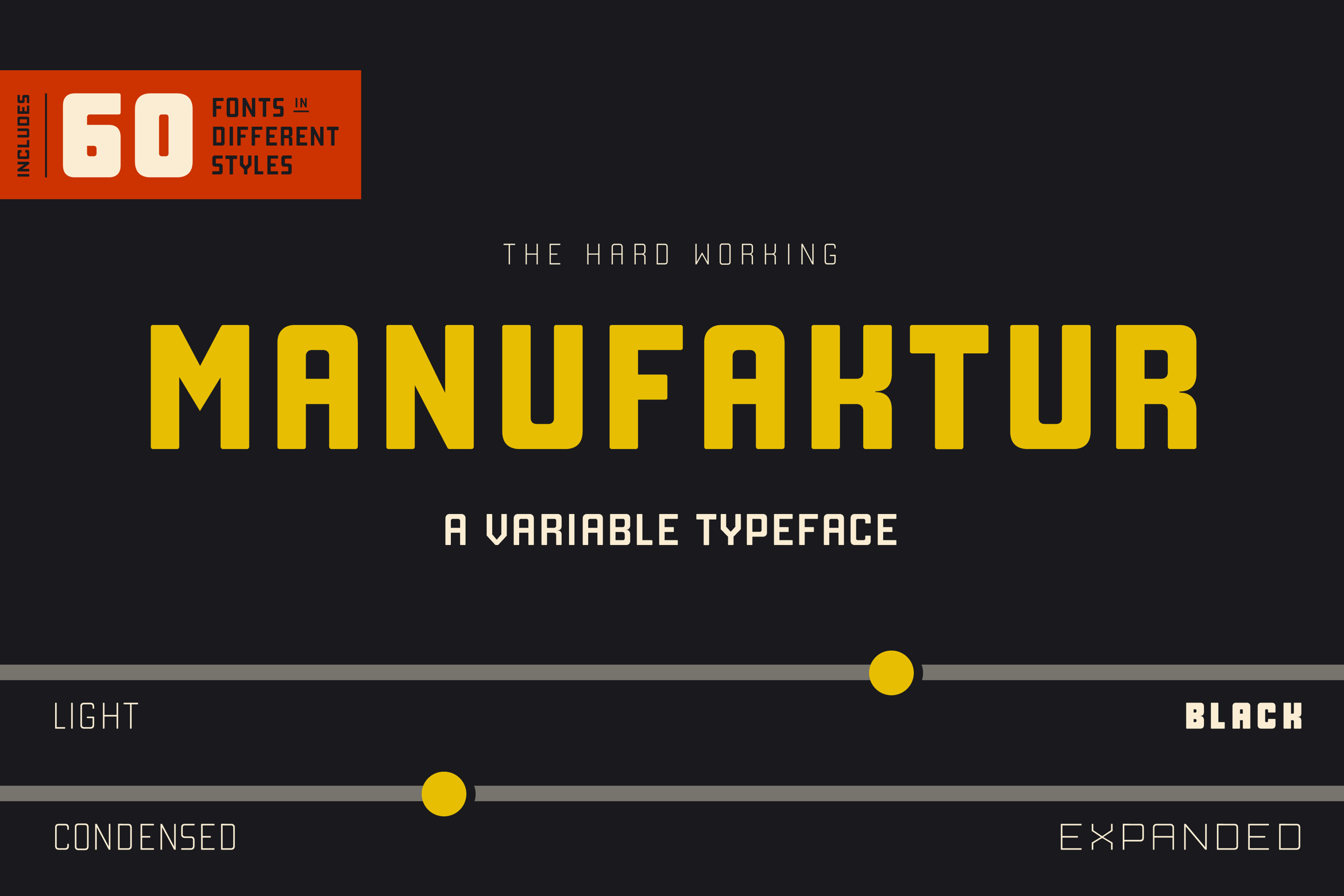 Download Free Manufaktur Family Font By Daniel Feldt Creative Fabrica for Cricut Explore, Silhouette and other cutting machines.