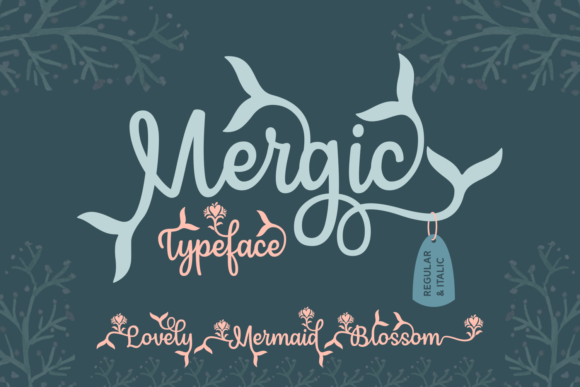 Print on Demand: Mergic Script & Handwritten Font By Situjuh
