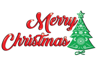 Download Free Merry Christmas Graphic By Goran Stojanovic Creative Fabrica for Cricut Explore, Silhouette and other cutting machines.