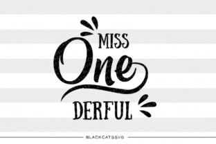 Print on Demand: Miss One-derful Graphic Crafts By BlackCatsMedia