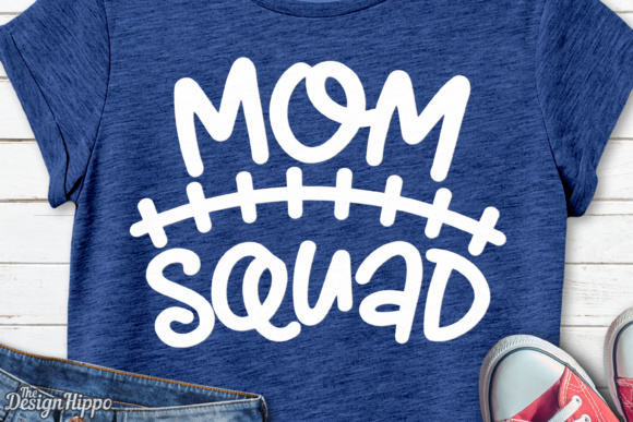 Download Free Mom Squad Graphic By Thedesignhippo Creative Fabrica for Cricut Explore, Silhouette and other cutting machines.