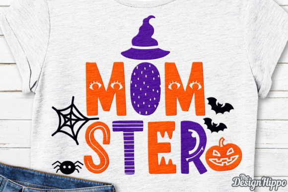 Momster Halloween SVG File Graphic Crafts By thedesignhippo