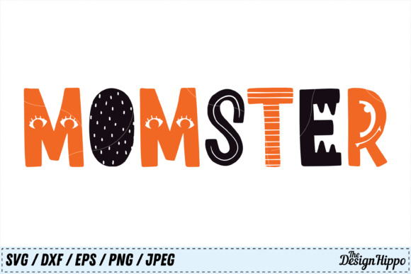 Momster Halloween Graphic By Thedesignhippo Creative Fabrica
