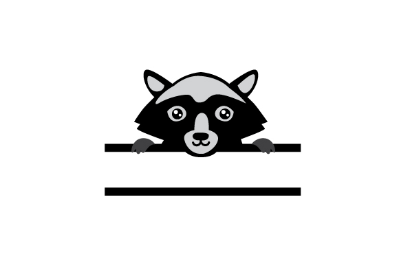 Download Free Monogram Frame Racoon Svg Cut File By Creative Fabrica Crafts Creative Fabrica for Cricut Explore, Silhouette and other cutting machines.