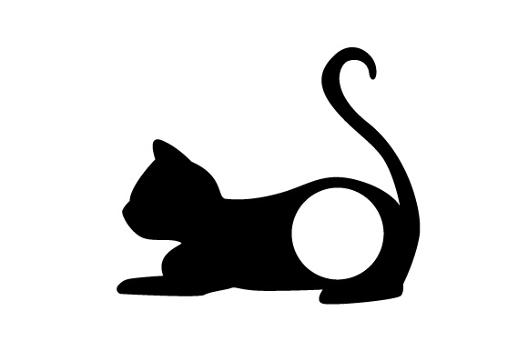 Download Free Monogram Frame Cat Svg Cut File By Creative Fabrica Crafts for Cricut Explore, Silhouette and other cutting machines.