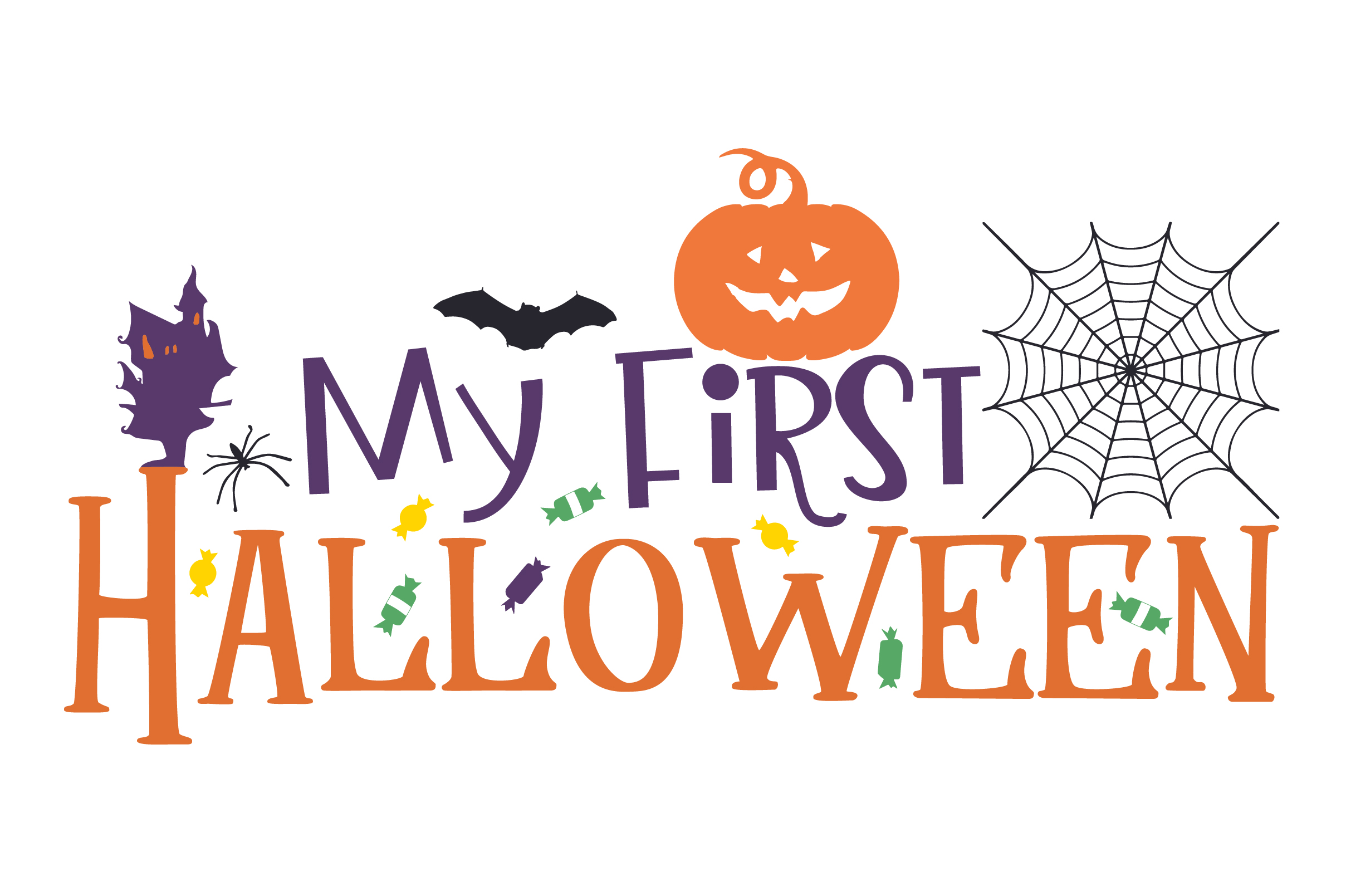 My First Halloween Svg Cut File By Creative Fabrica Crafts