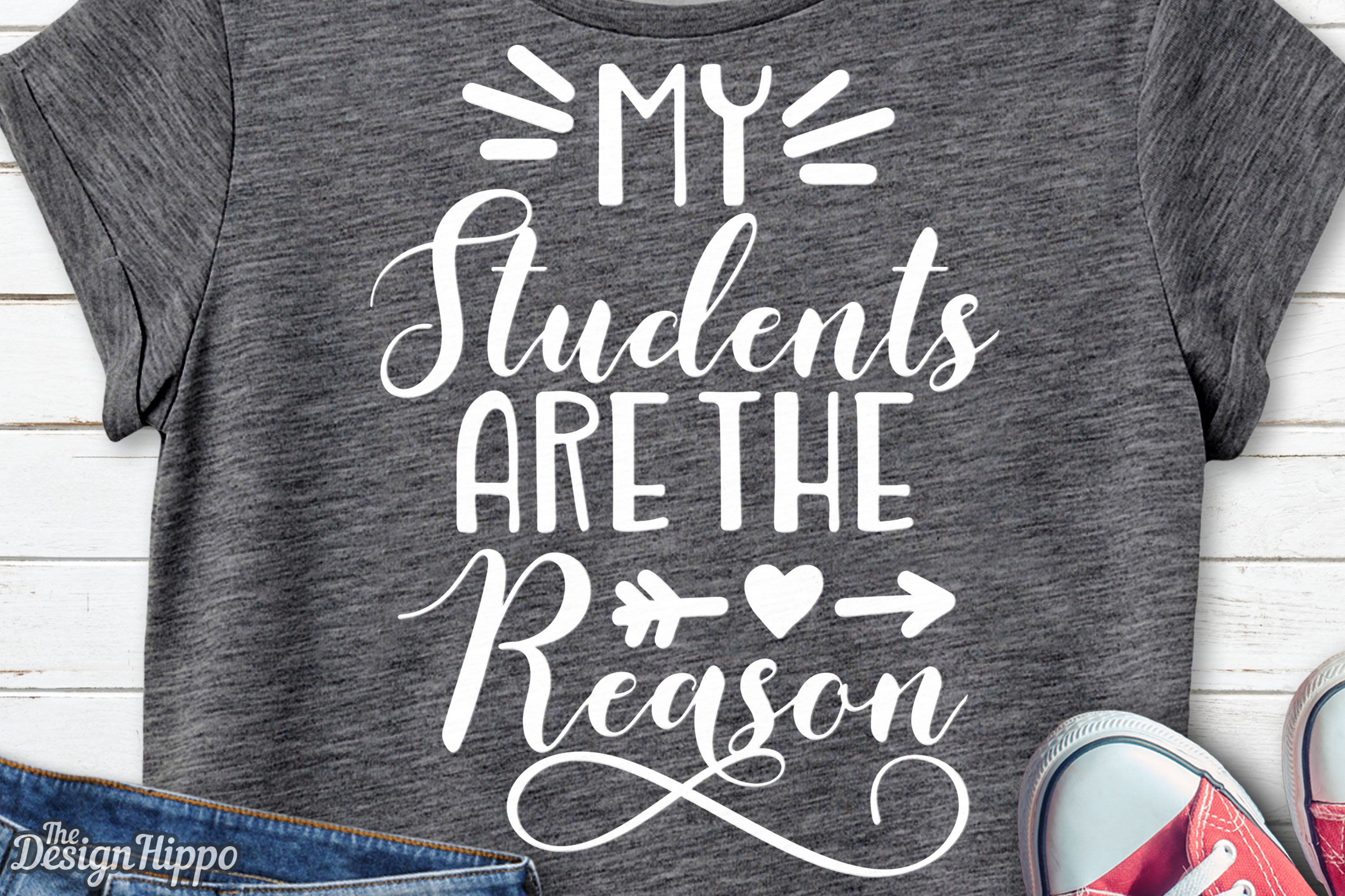 Download Free My Students Are The Reason Svg Graphic By Thedesignhippo for Cricut Explore, Silhouette and other cutting machines.