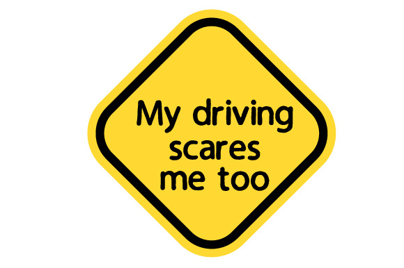 My Driving Scares Me Too Family Car Craft Cut File By Creative Fabrica Crafts