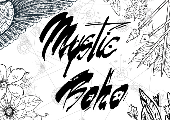 Mystic Boho Graphics Collection Graphic Illustrations By elenachooart