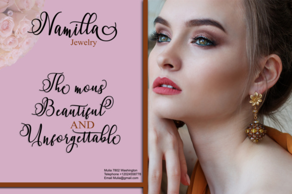 Namilla Script Duo Font By Bexx Type Image 4