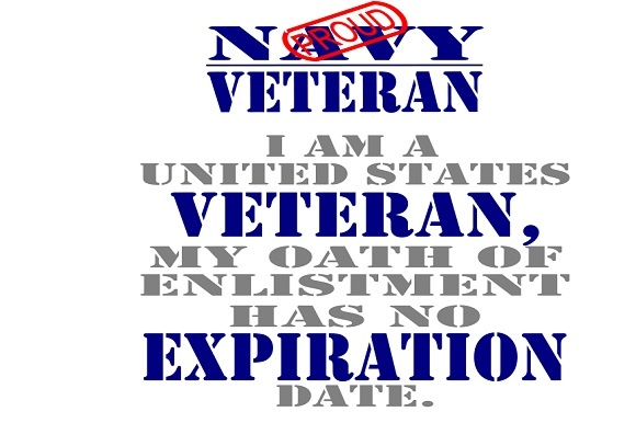 Navy Veteran Graphic Crafts By Family Creations