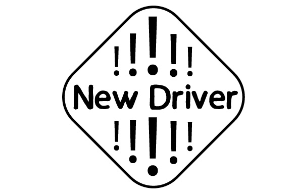 New Driver Family Car Craft Cut File By Creative Fabrica Crafts - Image 2