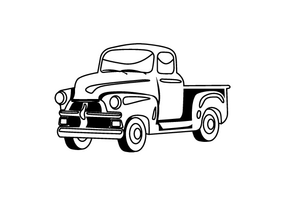 Old Truck Designs & Drawings Craft Cut File By Creative Fabrica Crafts - Image 2