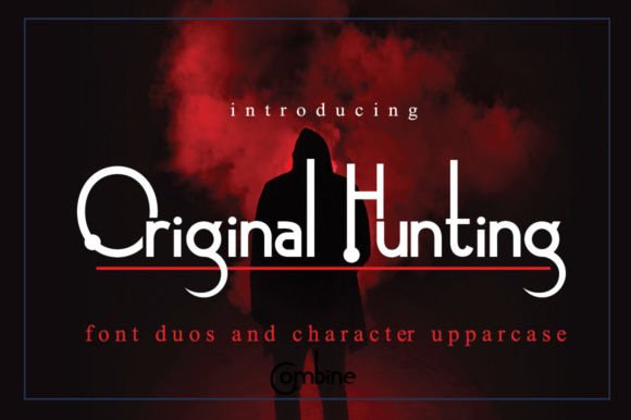 Print on Demand: Original Hunting Serif Font By jehansyah251 - Image 1