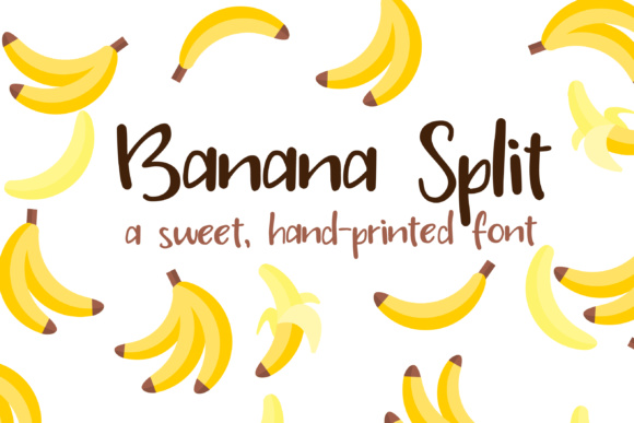 Print on Demand: PN Banana Split Script & Handwritten Font By Illustration Ink