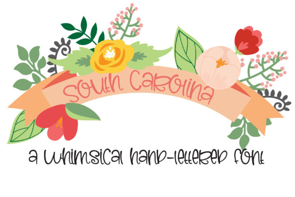 Print on Demand: PN South Carolina Script & Handwritten Font By Illustration Ink