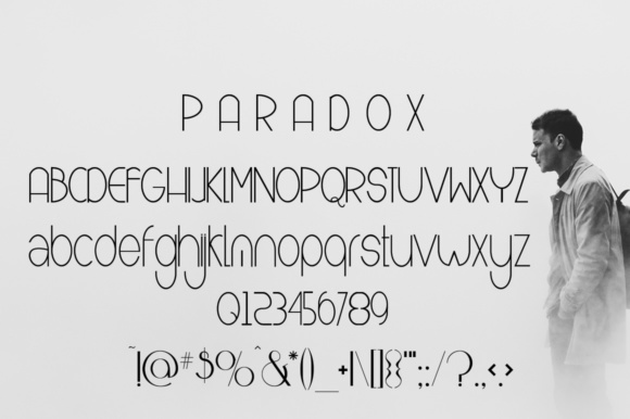 Print on Demand: Paradox Sans Serif Font By jehansyah251 - Image 2