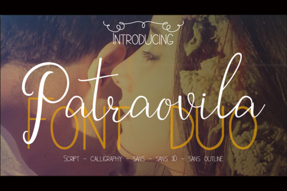 Print on Demand: Patraovila Duo Script & Handwritten Font By ed.creative