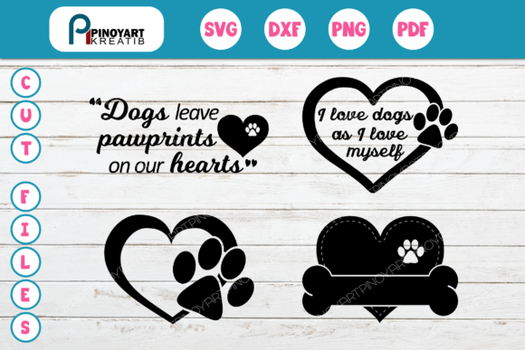 Paw SVG Bundle Graphic Crafts By Pinoyartkreatib - Image 1