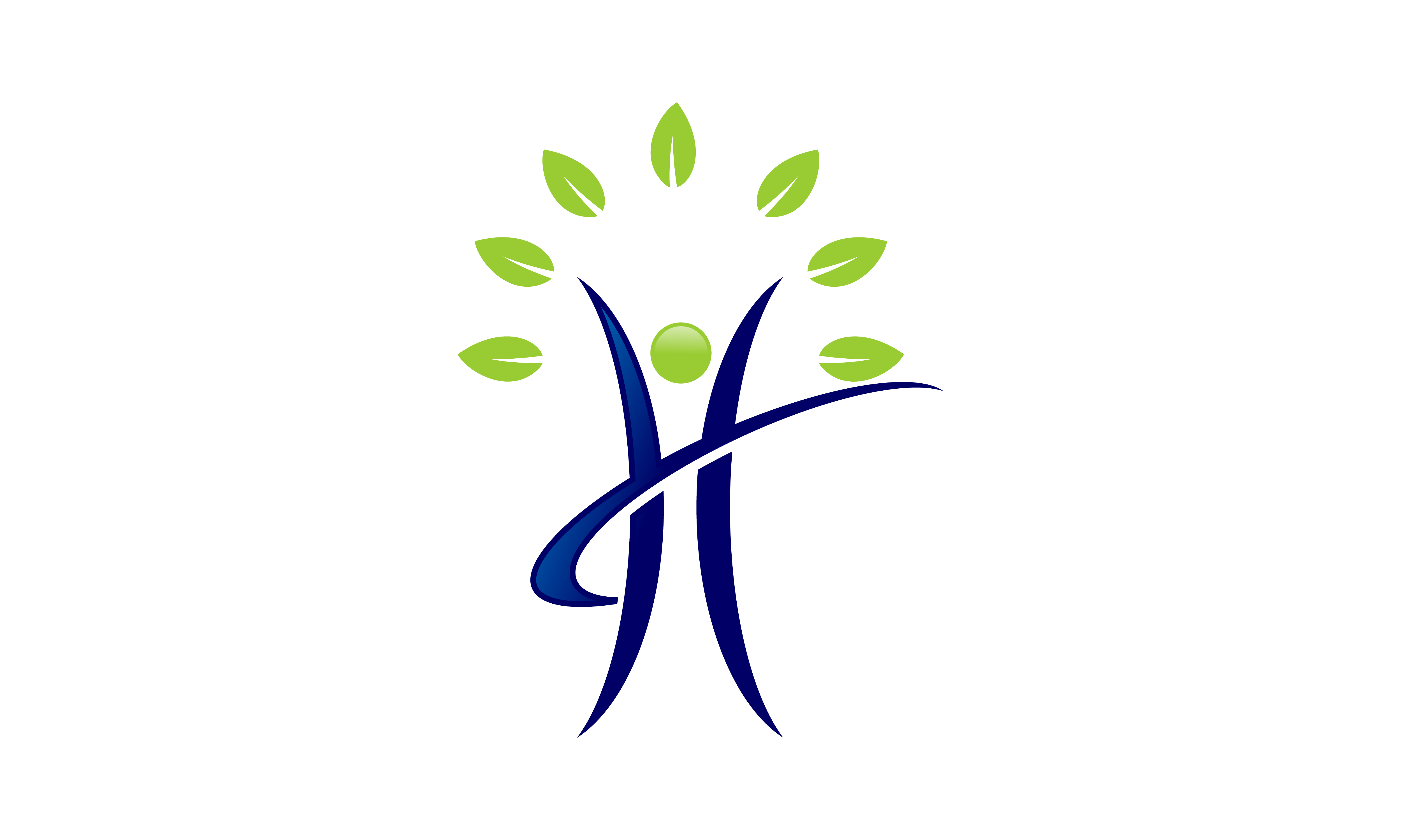 Download Free People Tree Leaf Ecology Nature Logo Wellness Healthy Life for Cricut Explore, Silhouette and other cutting machines.