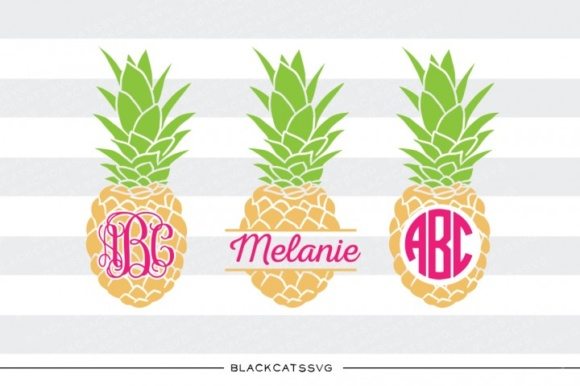 Pineapples Svg Name Gráfico Crafts Por BlackCatsMedia