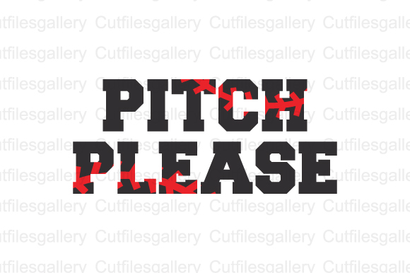 Download Free Pitch Please Graphic By Cutfilesgallery Creative Fabrica for Cricut Explore, Silhouette and other cutting machines.
