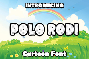 Polo Rodi Font By Boombage