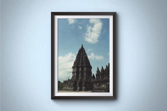 Prambanan Temple Graphic Architecture By Kerupukart Production