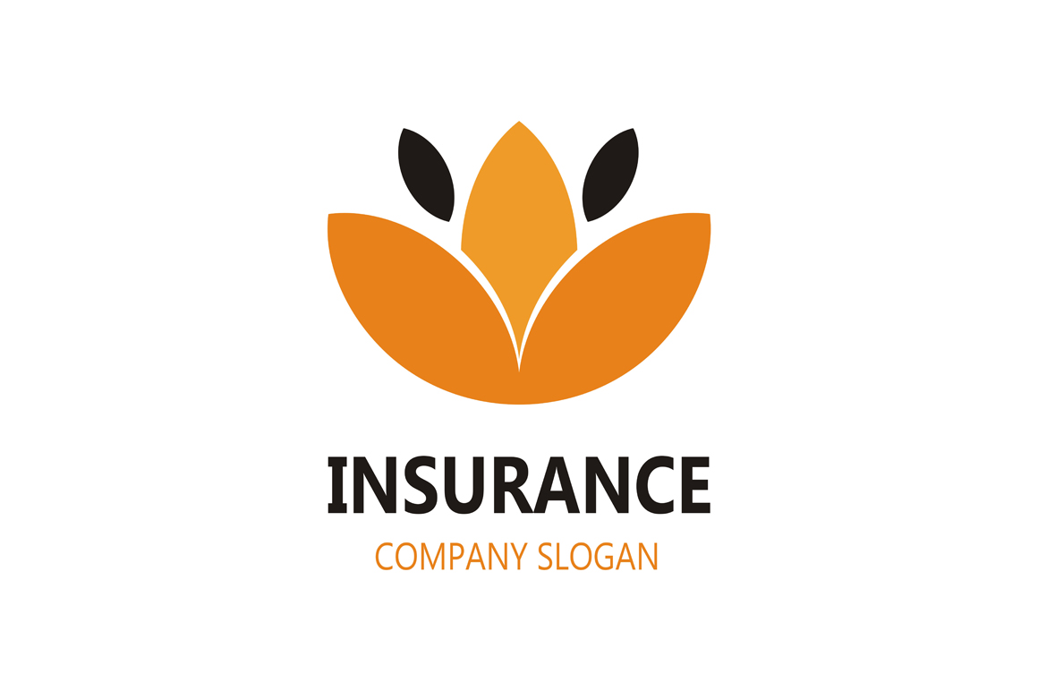 Protection Insurance Logo Lotus Flower Graphic By Friendesigns