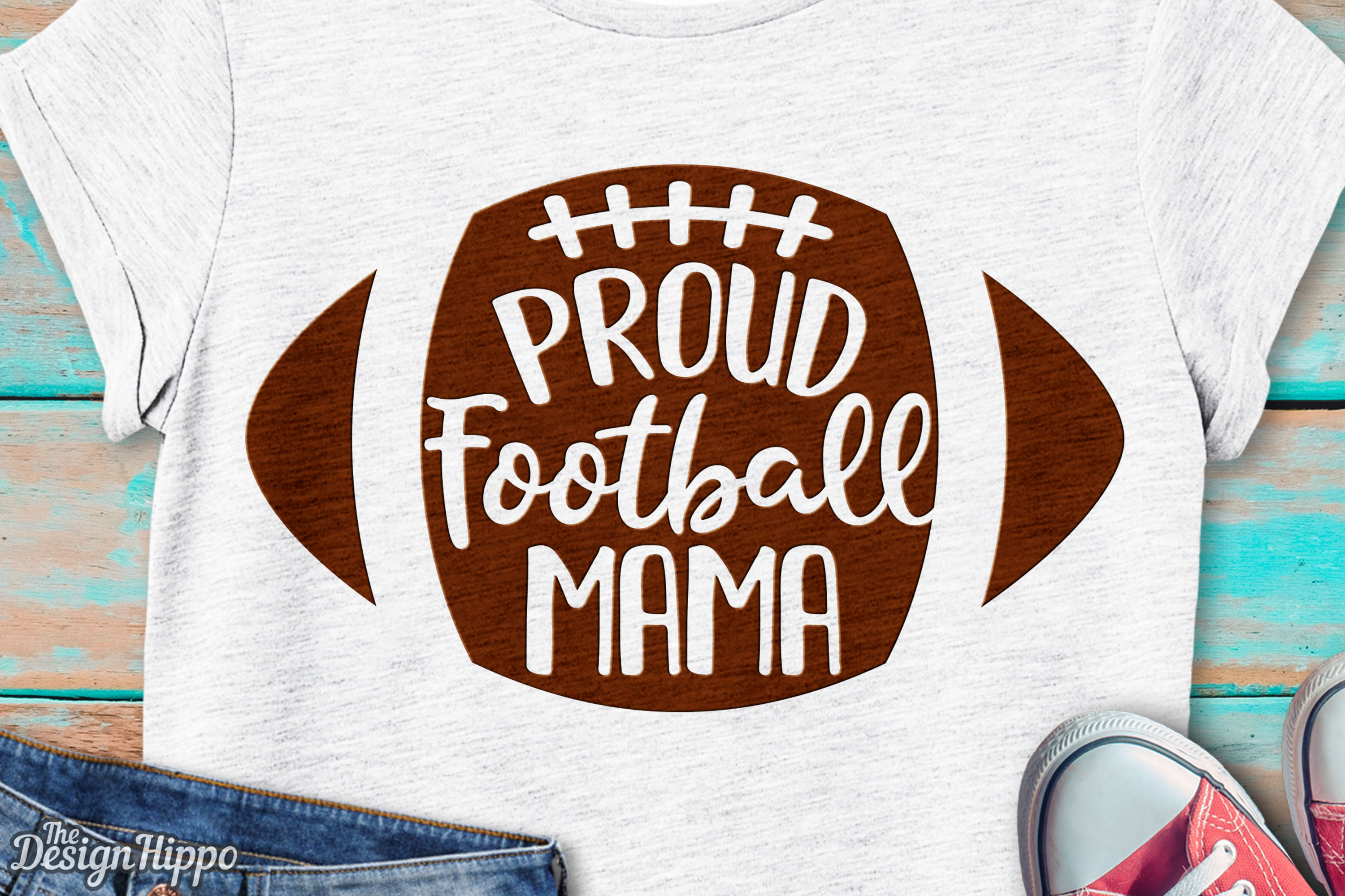 Download Free Proud Football Mama Svg Graphic By Thedesignhippo Creative Fabrica for Cricut Explore, Silhouette and other cutting machines.