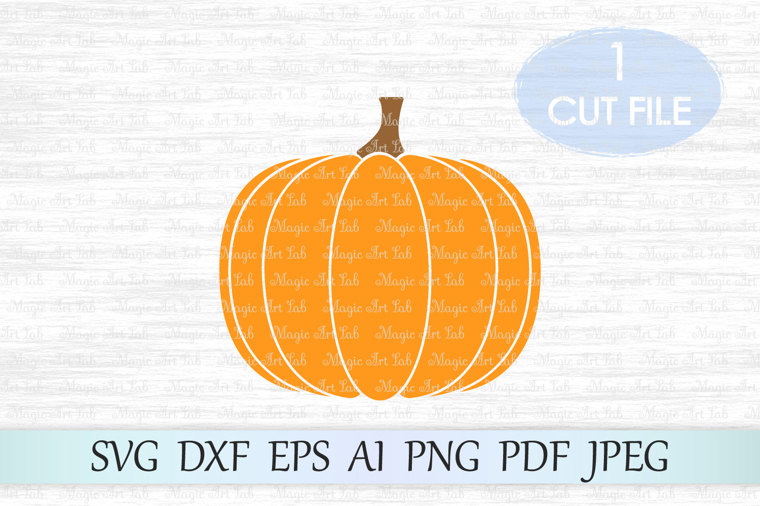 Download Free Pumpkin Graphic By Magicartlab Creative Fabrica for Cricut Explore, Silhouette and other cutting machines.