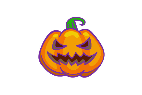Download Free Pumpkin With A Scary Face Svg Cut File By Creative Fabrica for Cricut Explore, Silhouette and other cutting machines.