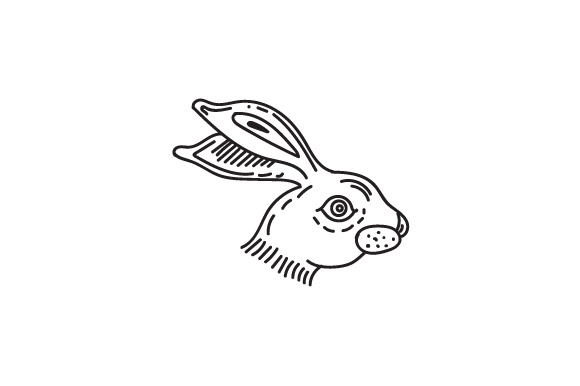 Download Free Rabbit Head Svg Cut File By Creative Fabrica Crafts Creative for Cricut Explore, Silhouette and other cutting machines.