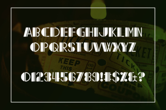 Print on Demand: Reach the End Display Font By Chequered Ink - Image 2