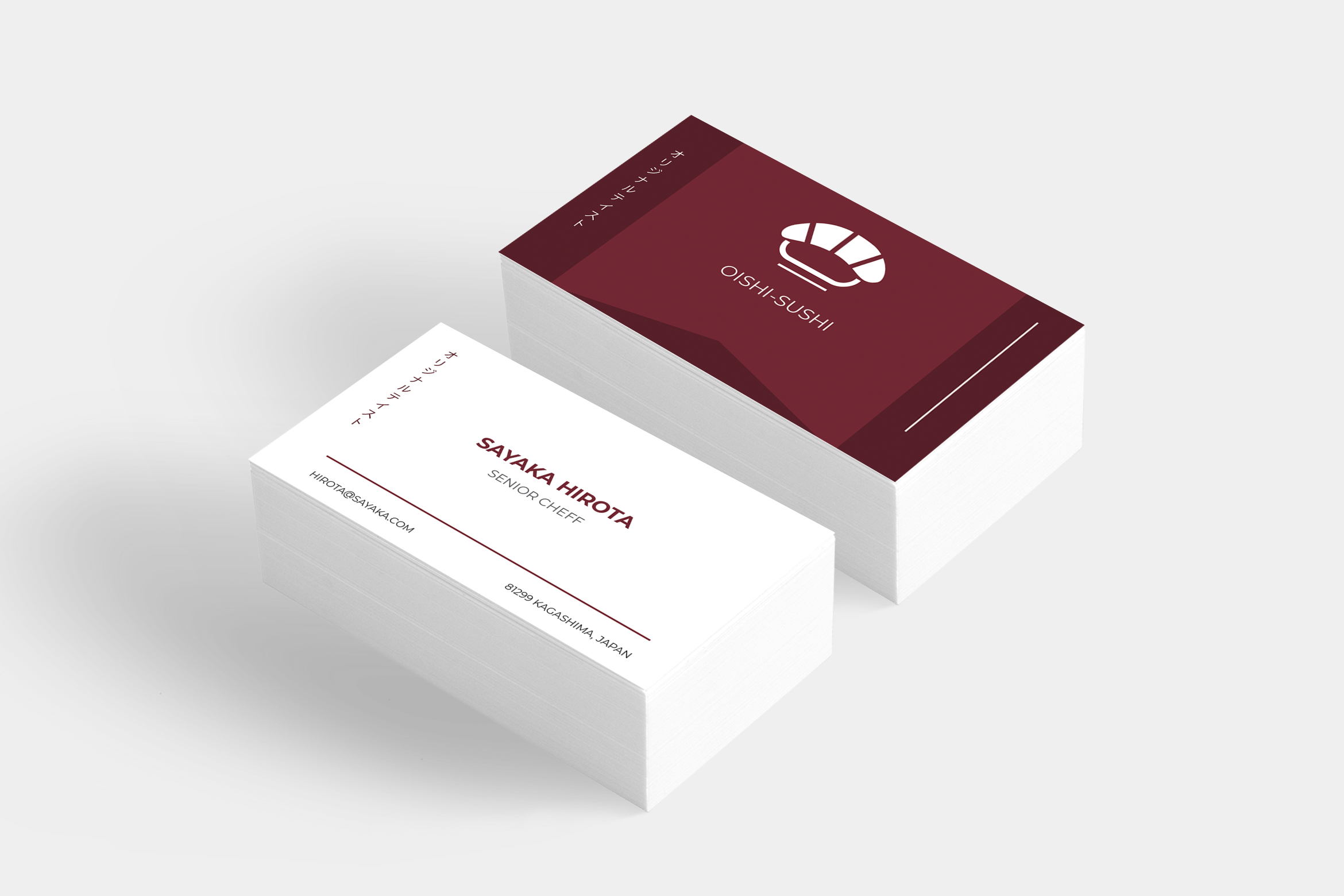 Download Free Restaurant Business Card Graphic By Tmint Creative Fabrica for Cricut Explore, Silhouette and other cutting machines.