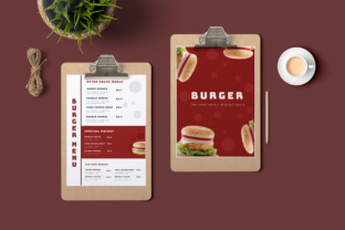 Download Free Restaurant Menu Template Graphic By Tmint Creative Fabrica for Cricut Explore, Silhouette and other cutting machines.